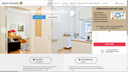 next-estate-website